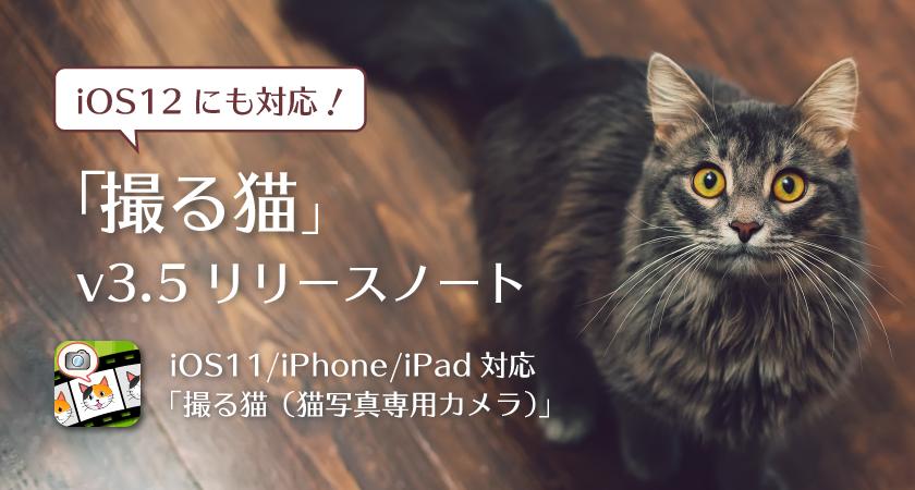 「撮る猫」v3.5 リリースノート